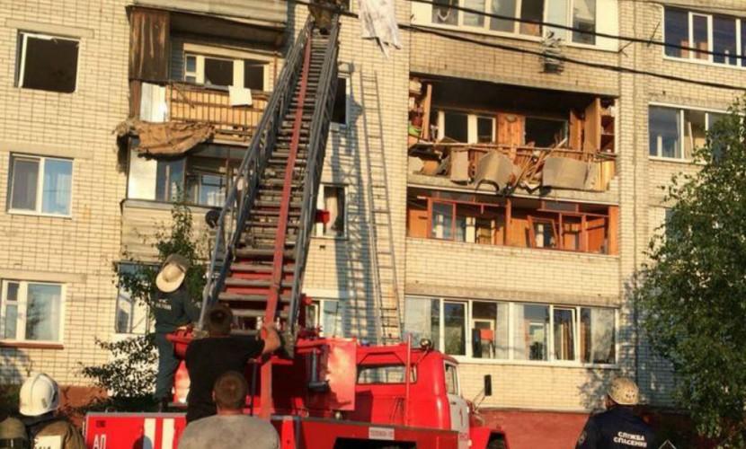 Взрыв газа разрушил семь квартир в многоэтажном доме под Брянском