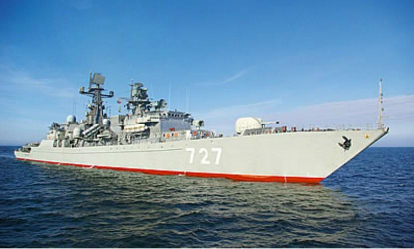 Военных США напугало приближение сторожевого корабля «Ярослав Мудрый» к крейсеру «Сан Хасинто»