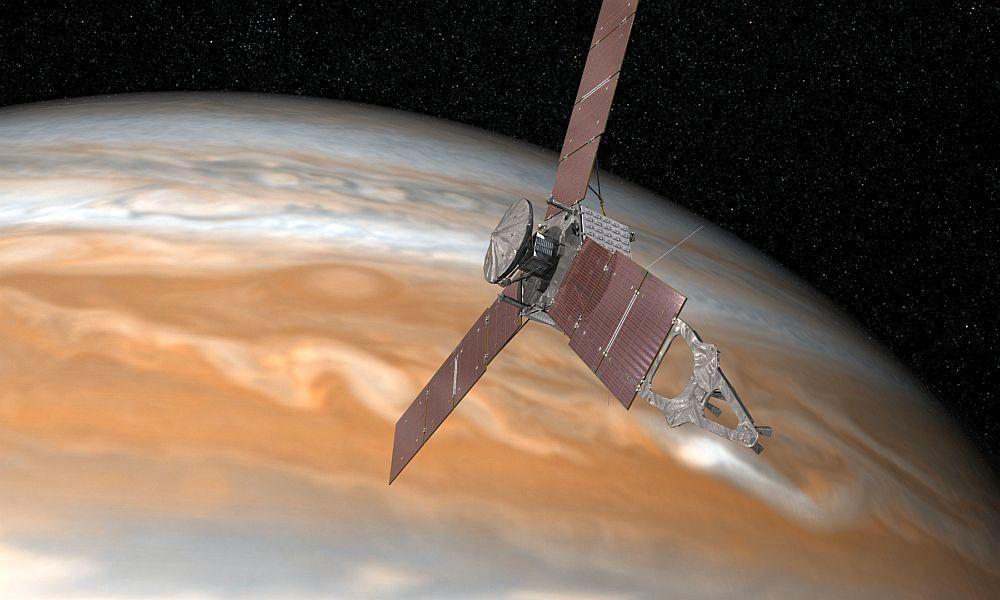 Летевшая 5 лет к Юпитеру станция NASA