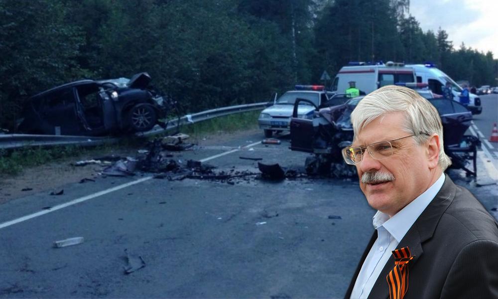 Сергей Миронов пообещал оказать помощь дочери погибших в ДТП зампреда Заксобрания Петербурга и его жены