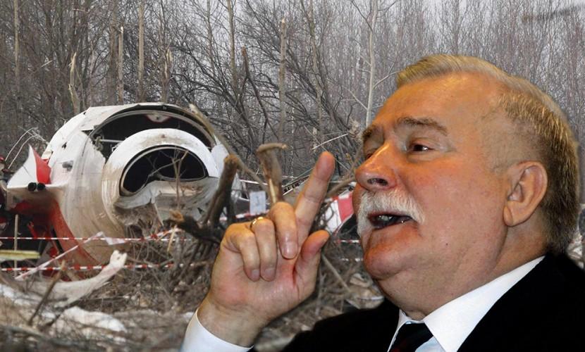 Валенса считает, что вавиакатастрофе под Смоленском виноват сам Качиньский
