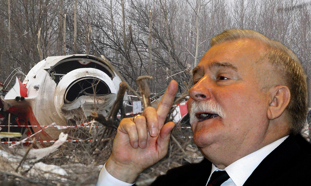 Валенса обвинил погибшего президента Качиньского и его живого брата в катастрофе Ту-154 под Смоленском