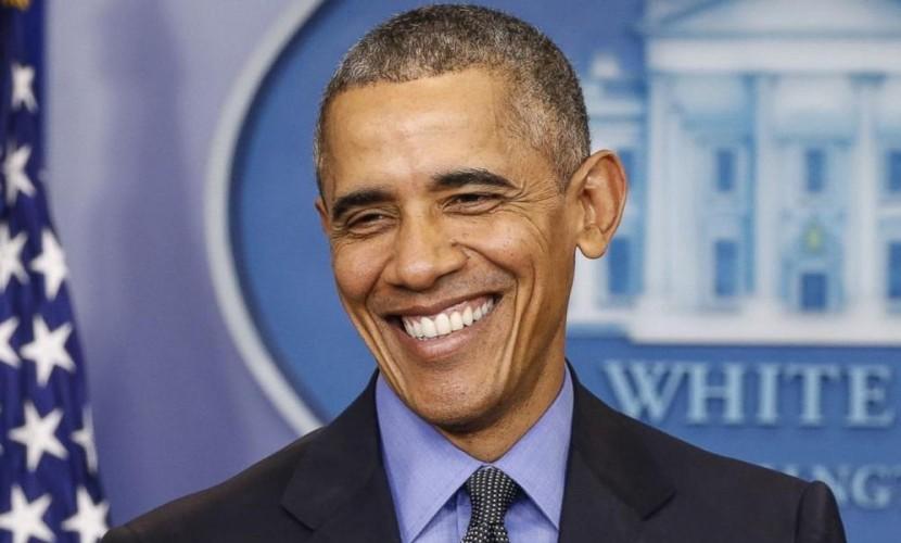 Президент и нобелевский лауреат Барак Обама празднует юбилей