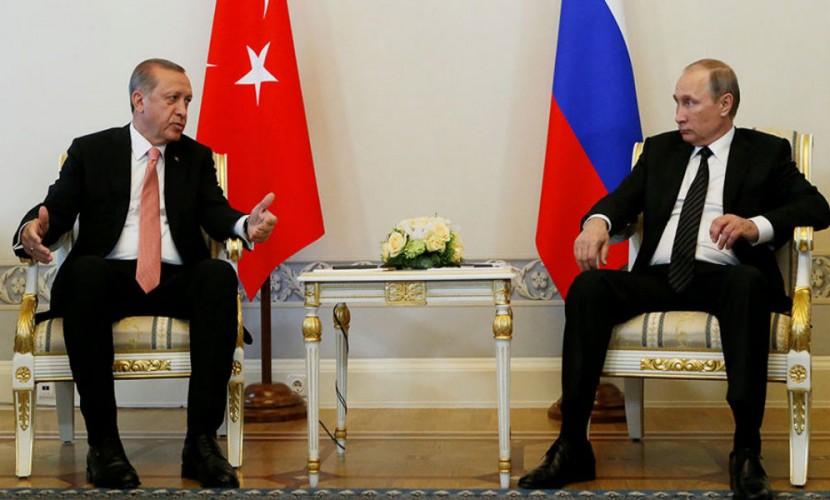 Эрдоган: сотрудничество Российской Федерации иТурции решит многие проблемы врегионе