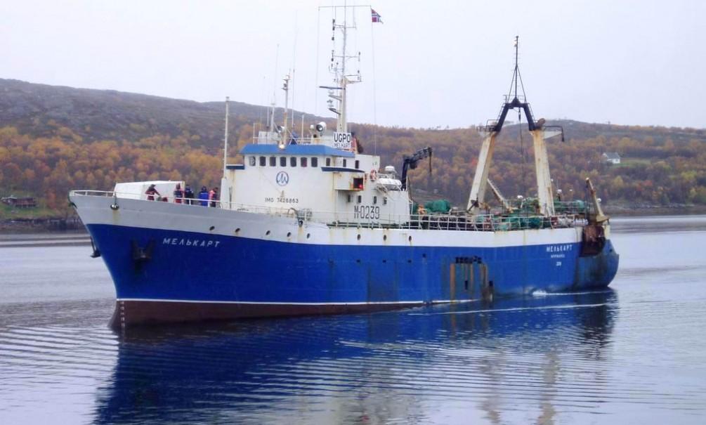 Российское судно арестовали в Норвегии за выброшенную рыбу