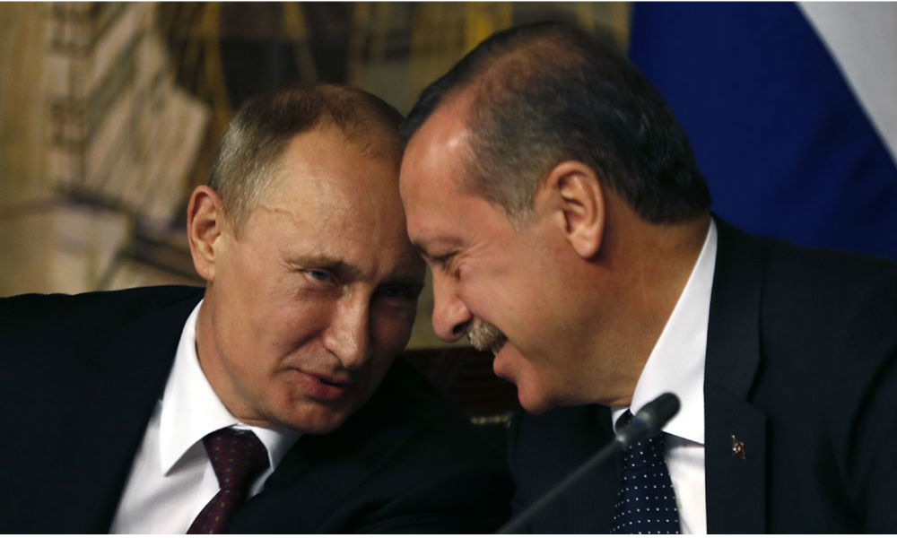 Запад назвал сближение Путина с Эрдоганом катастрофой