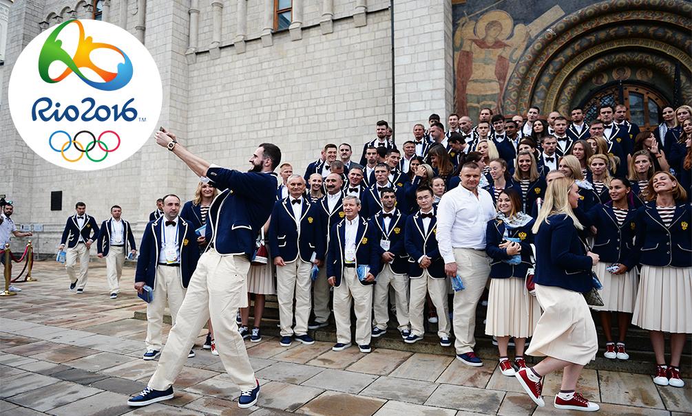 Объявлен урезанный состав сборной России, допущенный до Олимпийских игр в Рио