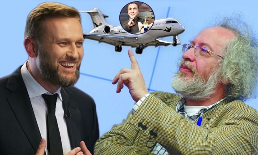Венедиктов поведал опроисхождении самолета вице-премьера Шувалова