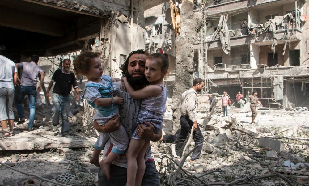 Спасавшая детей россиянка лишилась руки и ноги во время артобстрела в Алеппо