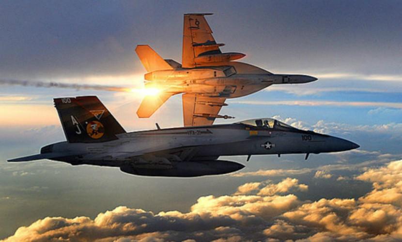 ВВС Израиля нанесли удар посирийским позициям вответ наперелет ракеты