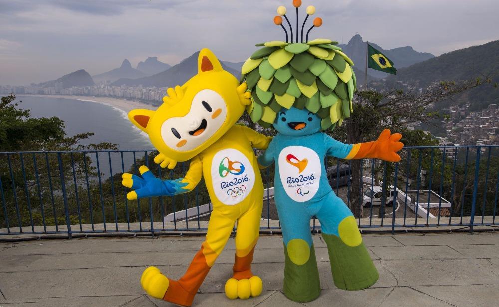 Талисманы Игр-2016 Винисиус (слева) и Том.