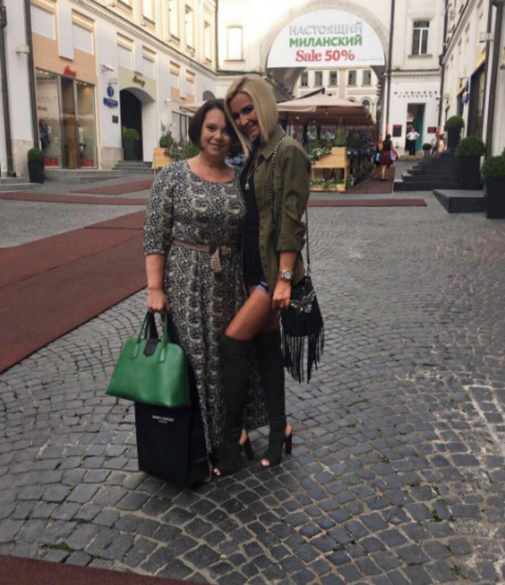 Ольга Бузова с мамой Ириной