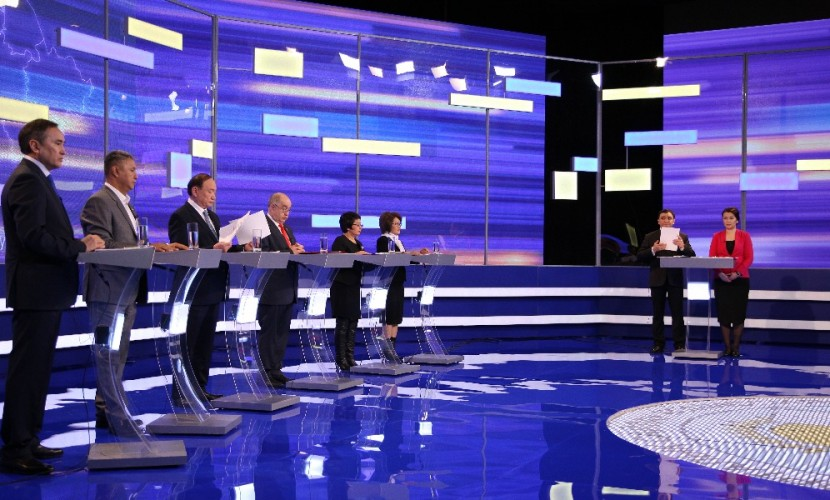 ЦИК распределил эфирное время между партиями для агитации ипредвыборных дебатов