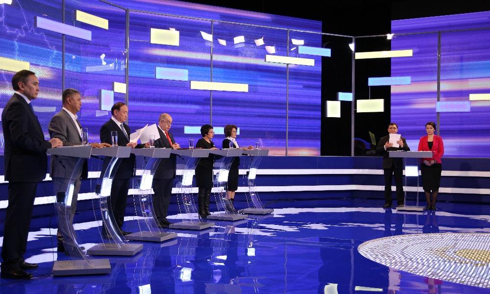 Предвыборные теледебаты партий стартуют на канале
