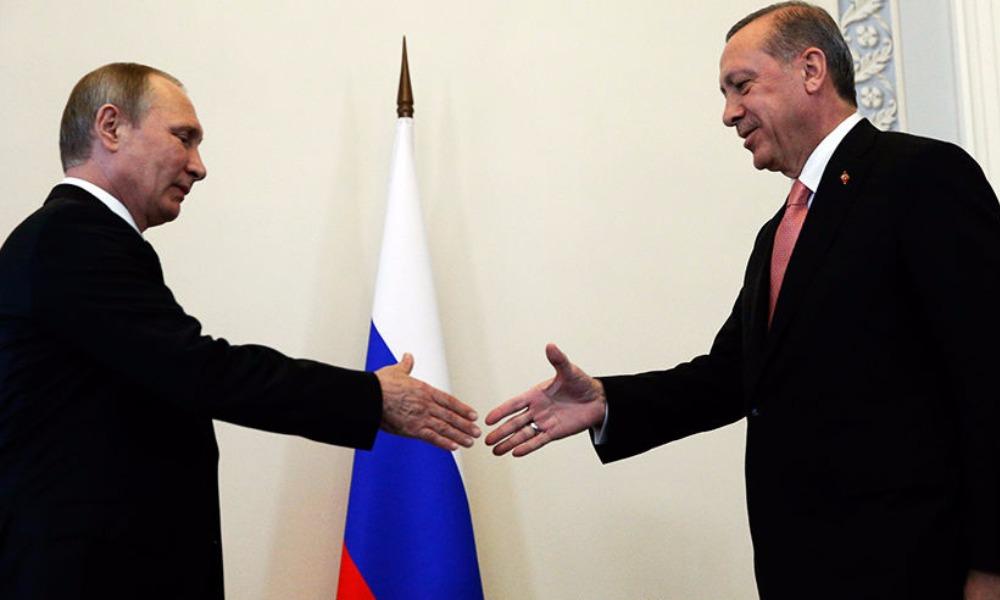 Президент России на встрече с турецким лидером заявил о деградации отношений между двумя странами