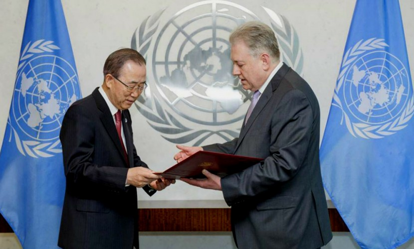 Ельченко раскритиковал генерального секретаря ООН Пан ГиМуна из-за Украины