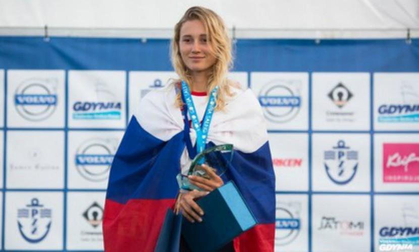 Кубанская яхтсменка Елфутина оказалась 2-ой после 3-х гонок вРио