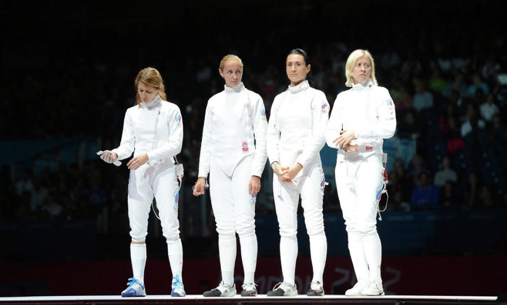 Российские шпажистки стали бронзовыми призерами ОИ-2016