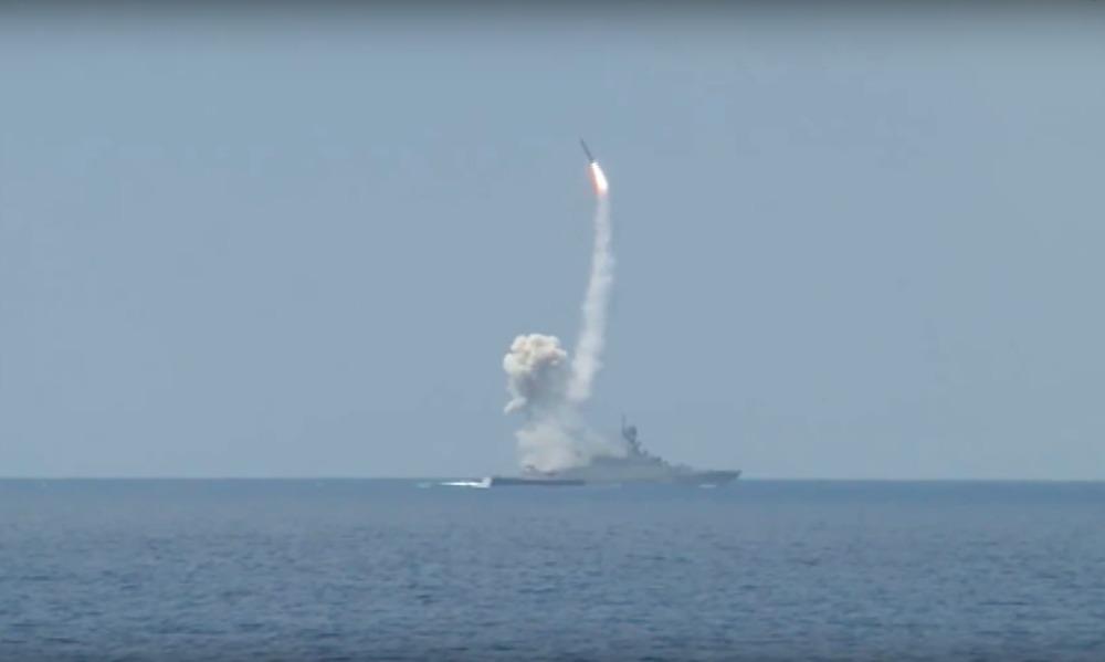 Опубликовано видео пусков ракет
