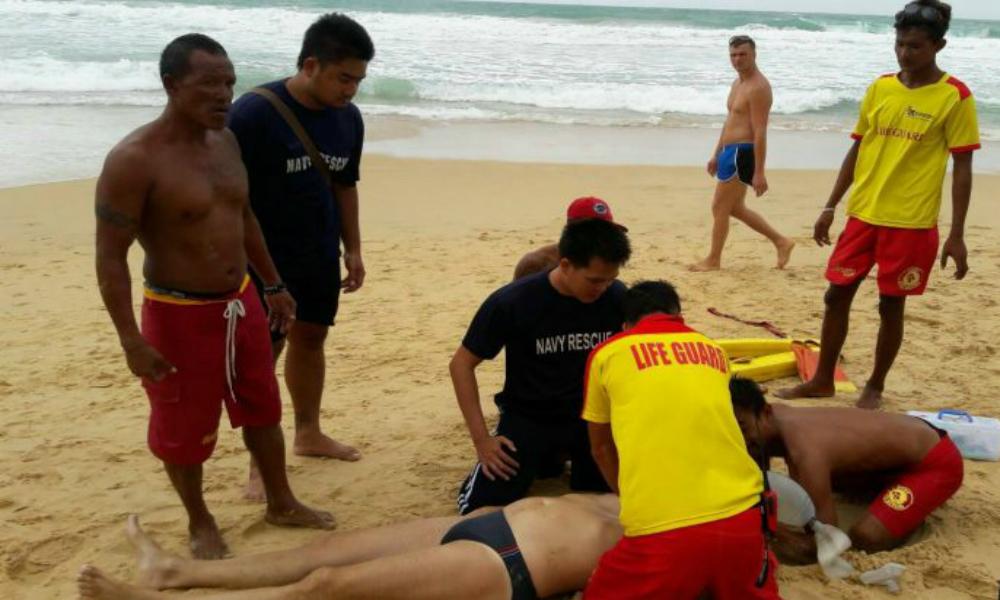 Турист из России утонул во время шторма на тайском острове Пхукет