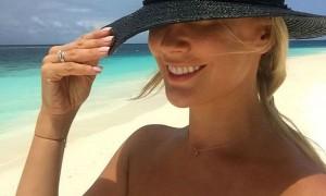 Елена Летучая в медовый месяц на Мальдивах показала свои соблазнительные прелести