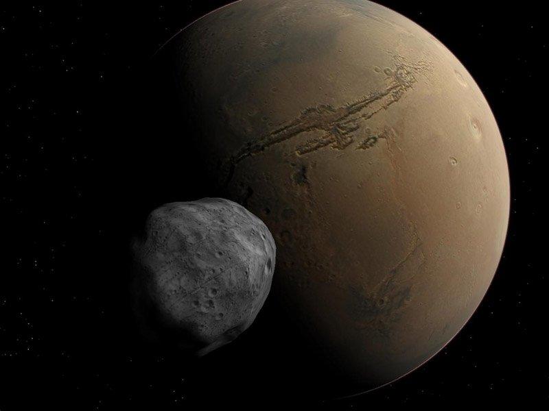 Ученые объяснили происхождение таинственных каналов на спутнике Марса