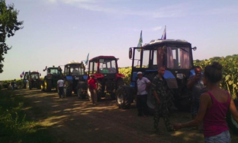 Милиция задержала всех участников «тракторного марша»