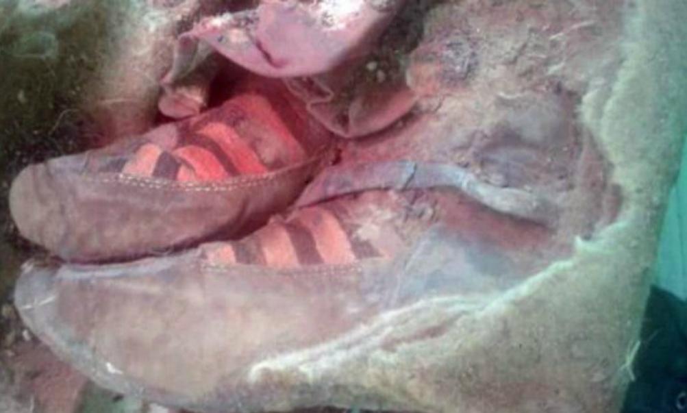 На Алтае обнаружили мумию древней женщины в «кроссовках Adidas»