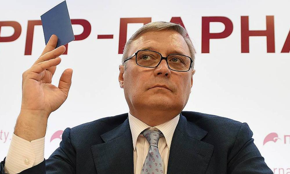 Власти Украины запретили российским оппозиционерам из ПАРНАСа проводить агитацию в Крыму