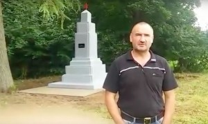 Разграбленный и заброшенный властями Польши памятник советским танкистам восстановили активисты