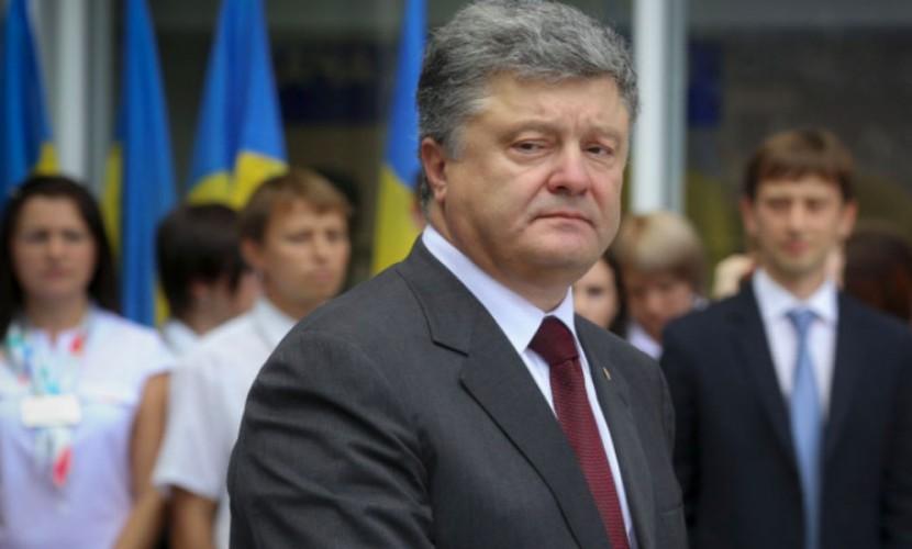 Германия иФранция поддержали прекращение огня наДонбассе с1сентября— Порошенко
