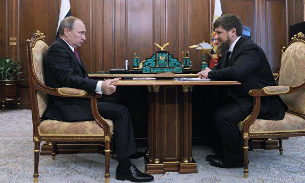 Путин принял приглашение Кадырова приехать в Чечню во время ночной встречи в Кремле