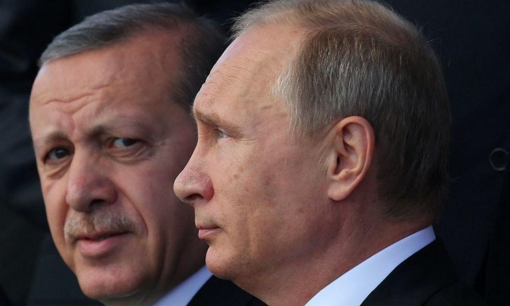 Путин заявил Эрдогану о готовности нарастить антитеррористическое сотрудничество после взрыва на свадьбе