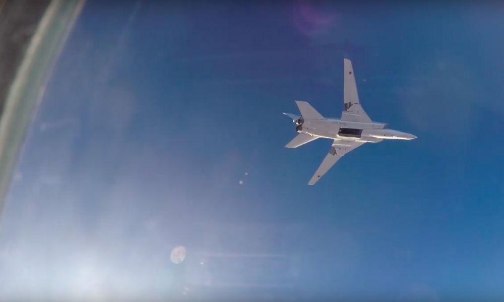 Первый боевой вылет российской авиации с базы в Иране прокомментировали в Пентагоне