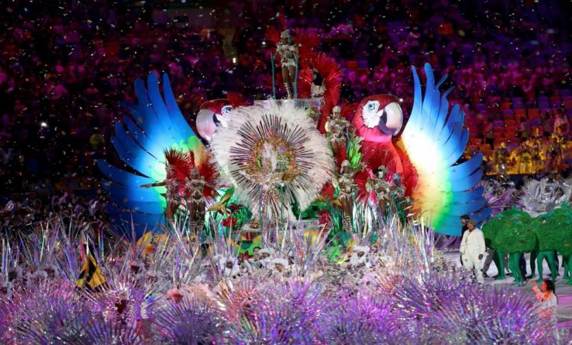 Фантастическая церемония закрытия Олимпиады-2016 завершилась в Рио-де-Жанейро