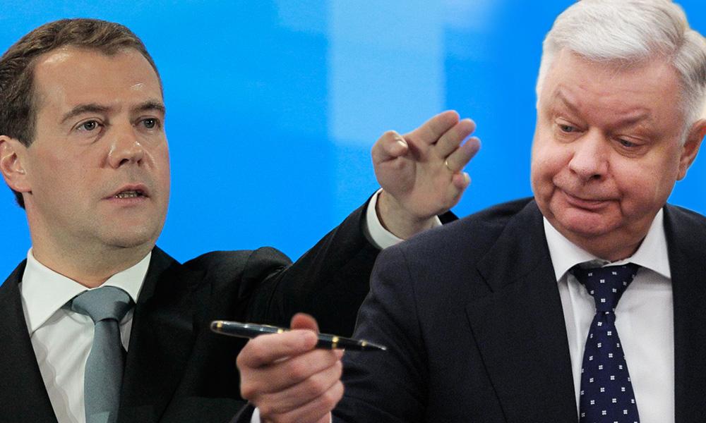Медведев освободил Ромодановского от должности главы упраздненной в апреле ФМС