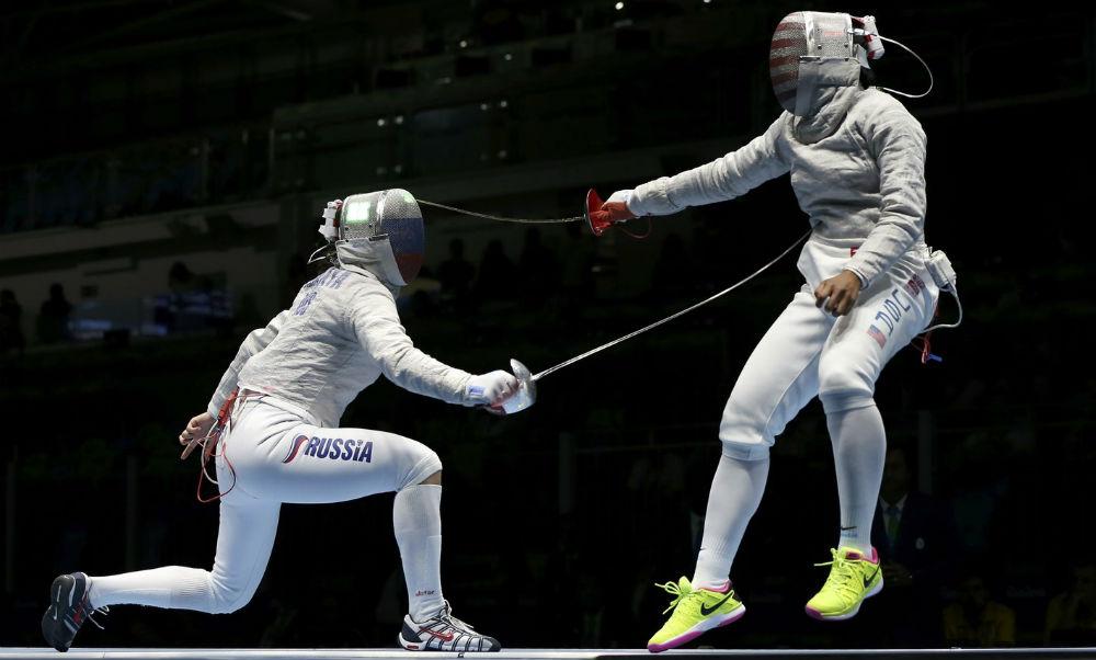 Российские саблистки красиво победили американок и сразятся с украинками за золото Олимпиады-2016