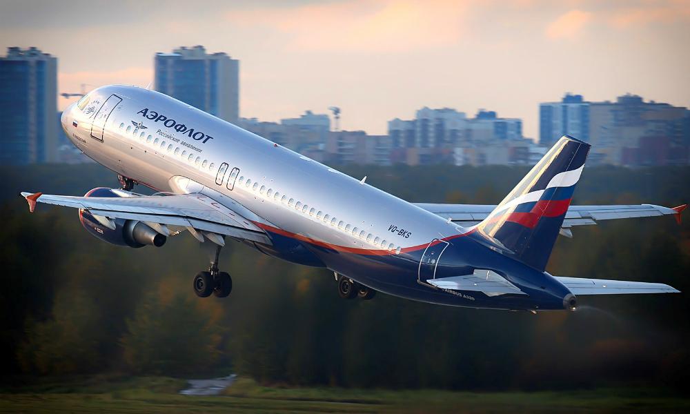 Попавшая в двигатель самолета птица испугала пассажиров рейса «Москва - Томск»