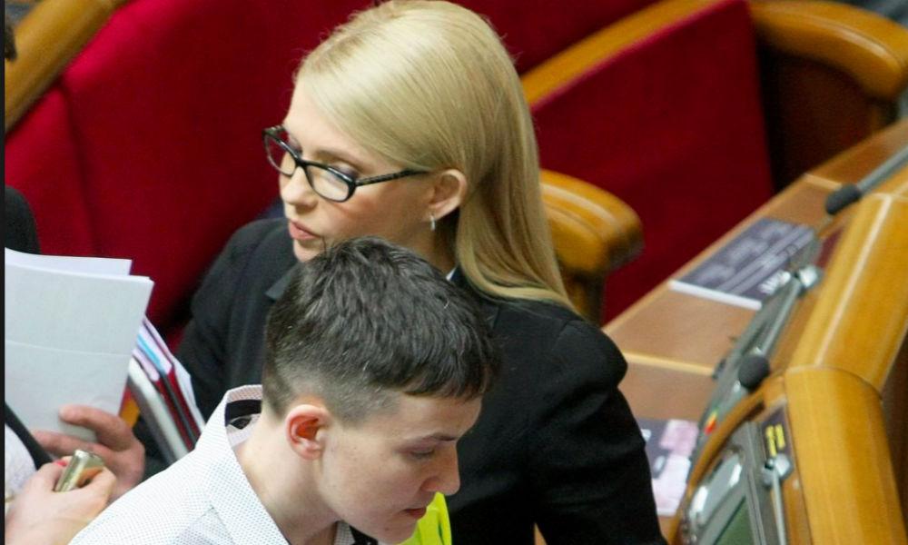 Тимошенко словами Ленина рассказала о неопытности Савченко и призвала прекратить ее «юзать»