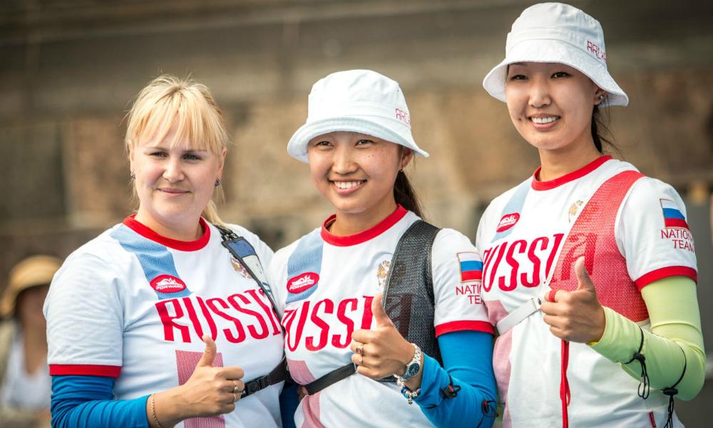 Сборная России по стрельбе из лука завоевала серебро на Олимпиаде в Рио