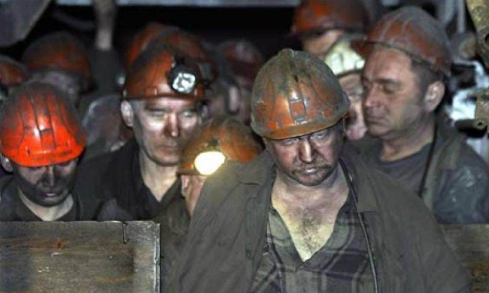 Многомиллионные долги по зарплате заставили ростовских шахтеров пойти на голодовку