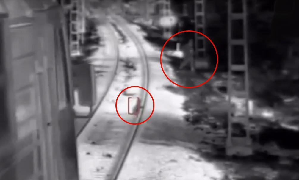 Чудесное спасение ребенка из-под колес поезда в Краснодарском крае попало на видео