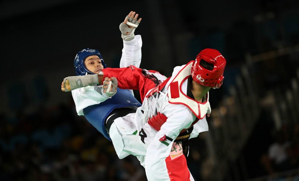 Алексей Денисенко завоевал первую в истории сборной России олимпийскую медаль по тхэквондо