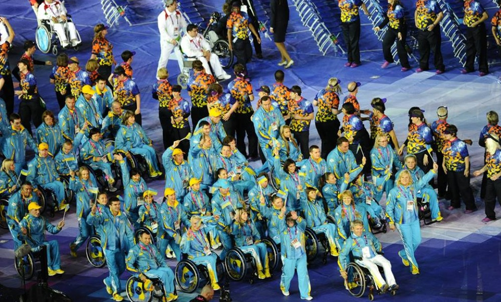 Международный паралимпийский комитет увеличил украинскую команду за счет российской