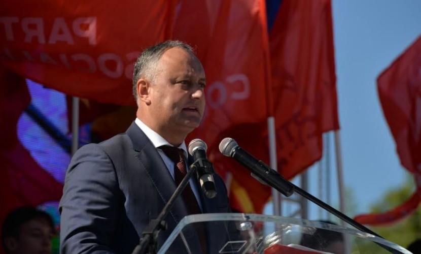 Глава крупнейшей оппозиционной партии Молдавии выдвинут кандидатом в президенты