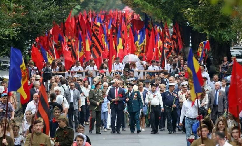 Вопреки действиям властей Молдовы, в Кишиневе состоялся грандиозный Марш памяти