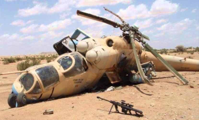 Российский военный вертолет Ми-8 с пятью людьми на борту был сбит в Сирии, - Минобороны