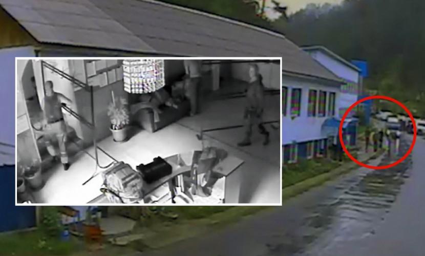 Видео захвата лечебницы вооруженными людьми в Бурятии появилось в Сети