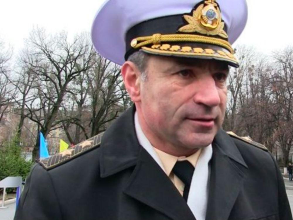 Главком ВМС Украины Игорь Воронченко.