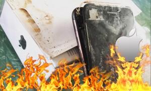 «Батарея, огонь!»: произошел первый взрыв iPhone 7